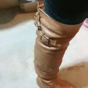 """New**""""Over the knee lace up boots"""